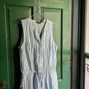 Vintage Stripe Maxi Dress